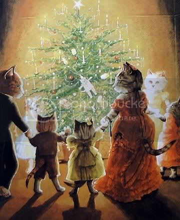 catsatchristmas.jpg picture by SparrowetteMermaid