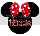 Minnie Red Bow